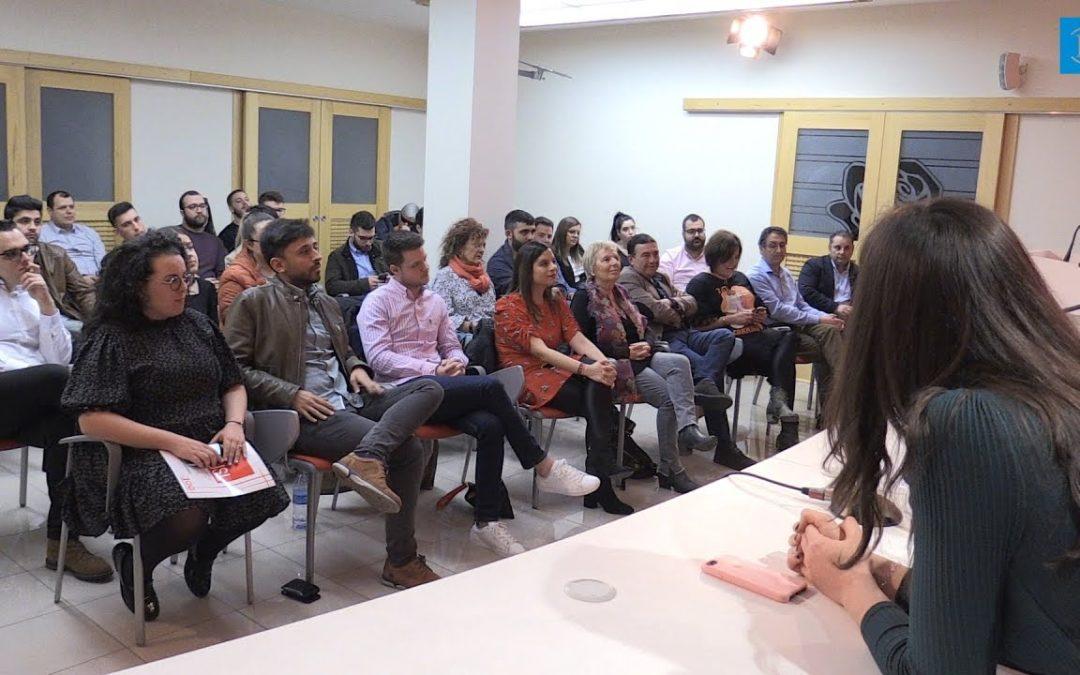 Laura Busto asume la directiva de Juventudes Socialistas de León con el objetivo de «trabajar por los jóvenes y la igualdad»